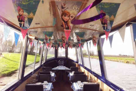 Burscough Boat Hire - Frozen inspired tea and cake cruise for one - Save 55%