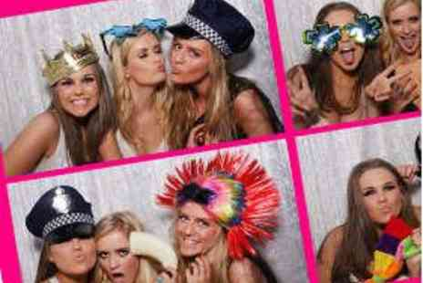 Event Booths - Three Hours of Party Photo Booth Hire - Save 54%