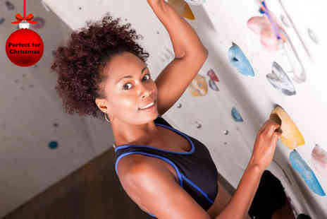 The Climbing Hangar - Full climbing day for One inc equipment & 1 year membership - Save 67%