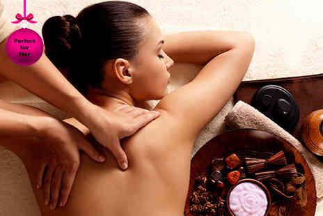J2A - Three hour pamper package including back, neck & shoulder massage, facial, Prosecco, afternoon tea & more  - Save 74%