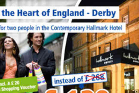 Hallmark Hotel Derby - 3 days for 2 people - Save 52%
