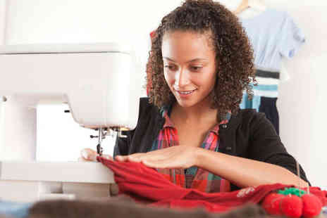 The Sewing Sanctuary - Two Beginners Sewing Machine Classes for One - Save 52%