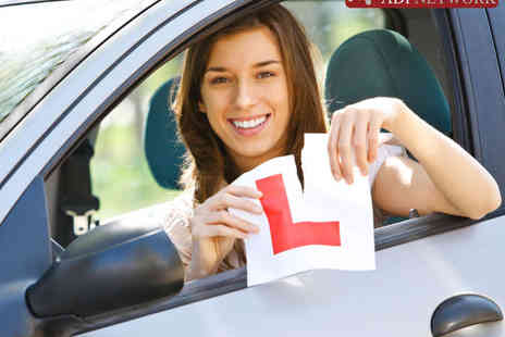 ADI Network - Four Hours of Driving Lessons  or Online Theory Tuition or Both - Save 84%