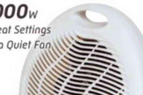 Kingfisher Homeware - Warm Up Now With this Freestanding Fan Heater - Save 50%