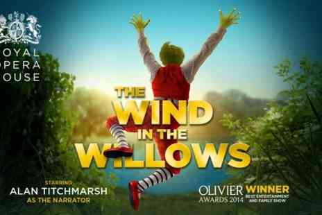 The Wind in the Willows - Tickets to The Wind in the Willows at The Vaudeville Theatre  - Save 39%