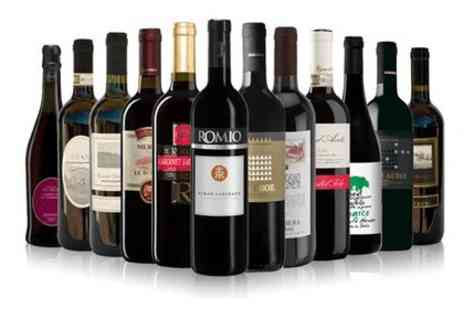 Italiana Choice - 12 bottles of assorted red wines  - Save 25%
