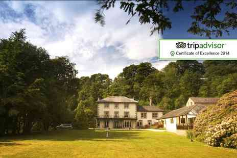 Lovelady Shield Country House Hotel - Two night break for 2 including wine, breakfast and late checkout - Save 62%