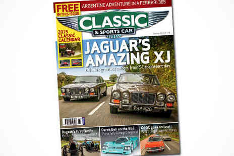Classic & Sports Car - 12 Issue Classic & Sports Car Magazine Subscription . - Save 50%