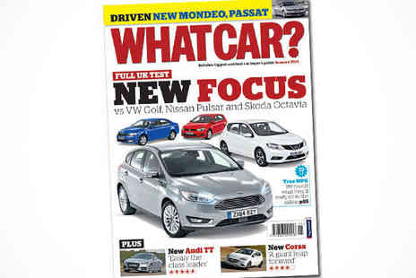 What Car -   12 Issue Car Magazine Subscription, Delivery Included - Save 58%