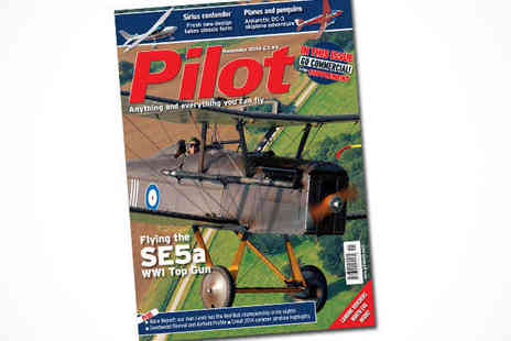 pilot web -  Six Month Pilot Magazine Subscription, Delivery Included - Save 50%