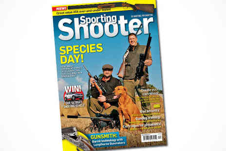 Sporting Shooter Magazine -  Six Month Sporting Shooter Subscription, Delivery Included - Save 46%