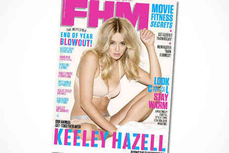 FHM Magazine -  12 Month Subscription, Delivery Included - Save 50%
