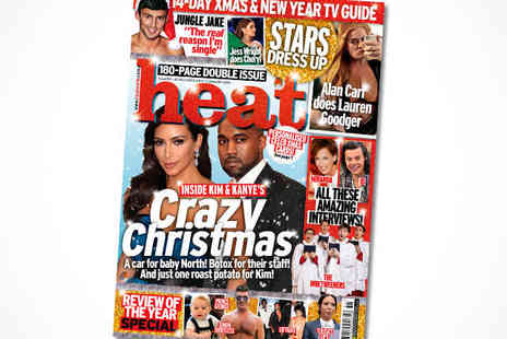 Heat Magazine - 15 Issue Subscription,Delivery Included - Save 23%
