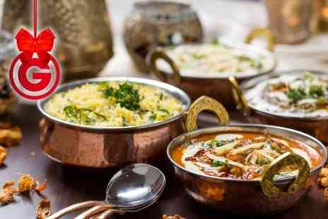 The Parvin - Two Course Indian Meal For Two - Save 76%