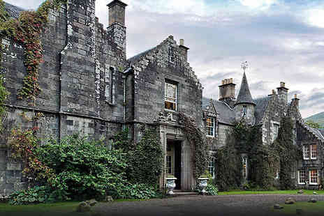 Ardanaiseig Hotel - One night stay Argyll  with breakfast included and Prosecco on arrival for two - Save 46%