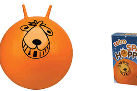 Stock Nation - Childrens Retro Space Hopper - Save 73%