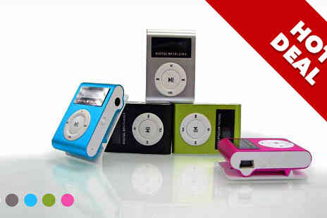 Zip Gadgets - Shuffling LCD MP3 Player - Save 77%