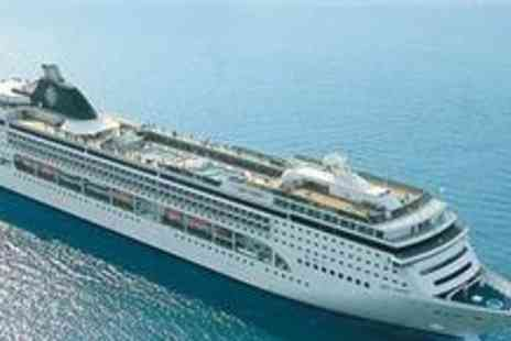 MSC Cruises - An Eight Night With Outside Cabin, full board cruise aboard - Save 49%