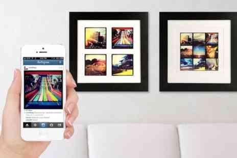 Instajunction - Instagram Prints in Wooden Frame - Save 52%