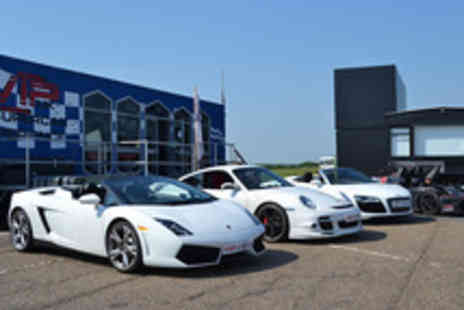 VIP Supercar Experience - Six Lap Kids Driving Experience in a Choice of Supercars - Save 50%