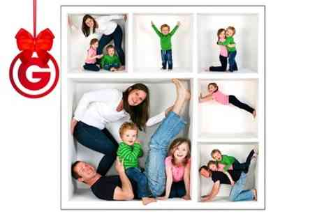 Paul Barsby Photography - Group Photoshoot in The Cube With Prints  - Save 92%