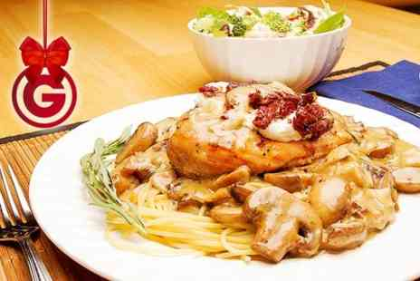Ristorante San Marco - Two Course Italian Meal For Two  - Save 54%