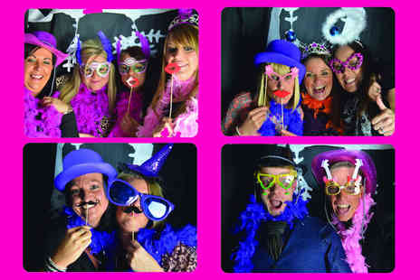 Memories & Giggles - Two hours of photobooth hire and unlimited first prints  - Save 50%