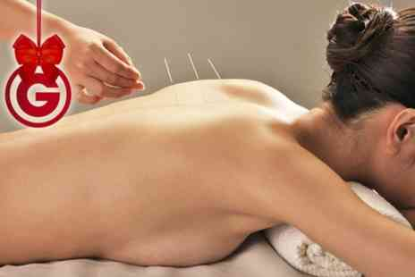 Angells - 30 Minute Massage With 30 Minutes of Acupuncture  - Save 75%