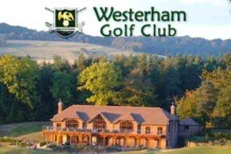 Westerham Golf Club - Day of Golf For Two Plus 40 Driving Range Balls Each - Save 80%