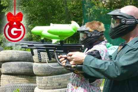 Amazon Outdoor Events - Paintball, BBQ and 100 Balls Each  - Save 84%