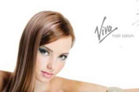 Viva Hair Salon - Full or Half Head of Highlights or Full Tint With Cut and Style - Save 65%