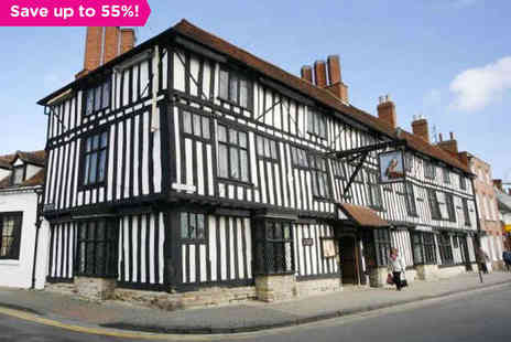 Falcon Hotel - One night stay  in Shakespeares - Save 55%