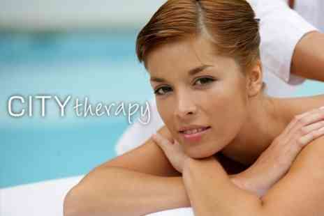 City Therapy - Choice of Two Hour Treatment Package for £39 - Save 72%