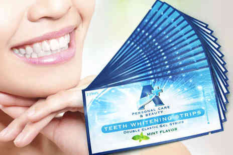 Teeth Whitening Intr - Pack of 14 Teeth Whitening Strips, Delivery Included - Save 68%