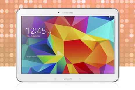 "Photo Direct - Samsung Galaxy Tab 4 10.1""  16GB in White - Save 24%"