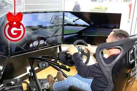 RACE HUB - 30 Minute Brands Hatch Driving Simulator Experience - Save 0%
