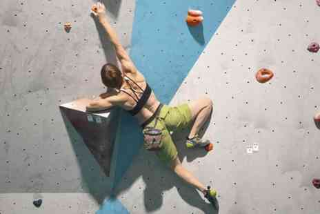 City Bloc - Rock Climbing Taster Session for Adult - Save 58%