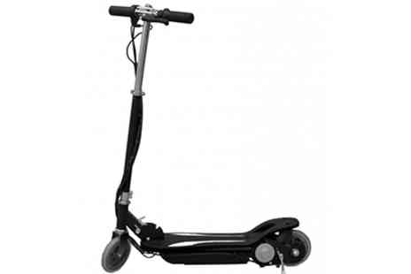 Turborevs - Kids 120W Black E Scooter - Save 60%