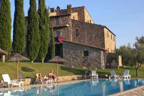 Agriturismo La Colombaia - Seven nights stay with half board, wine tasting plus more - Save 43%