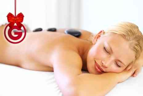 Dorthe Thomas Spa - Hot Stone Massage and Glam Glow Facial - Save 52%