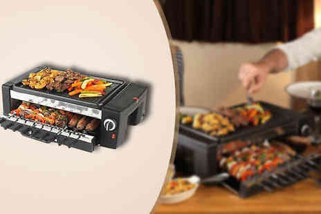 Ecom Group - Electric Roto Table Top BBQ and Grill  - Save 53%