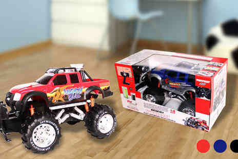 Toy Loco - Remote Control 4x4 Monster Truck - Save 75%