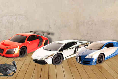 Toy Loco - Remote Control Supercar  - Save 75%
