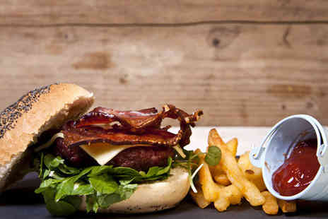 The Yard - Two course burger meal for Two  - Save 54%