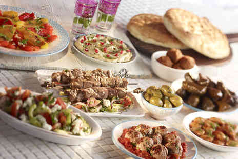 Al Souk - Lebanese mezze meal for Two - Save 52%
