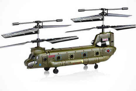 Fun of Fligh - Remote Control Tandem Rotor Helicopter, Delivery Included - Save 44%