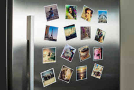 MagnaPix - A Set of Eight Personalised Fridge Magnets with Delivery - Save 40%