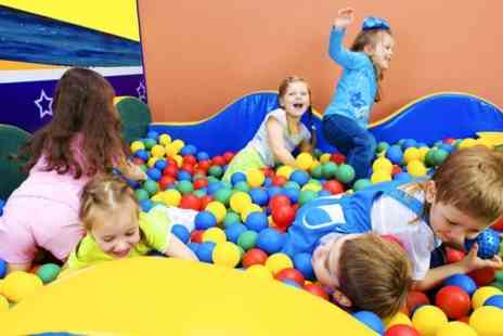 Little Monkeys - Indoor Soft Play and Food For Two  - Save 53%