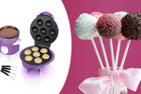 Ecom Group - Cake Pop Maker and Fondue Set - Save 58%