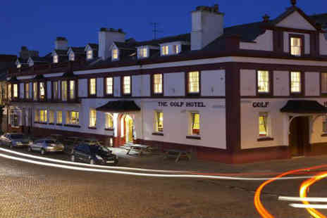 Golf Hotel - Escape to the Cumbrian Coast with breaks for two - Save 53%